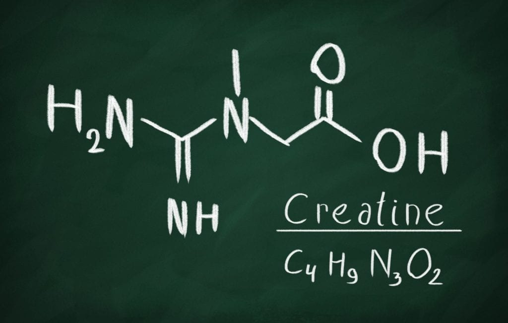 the chemical component of the supplement creatine