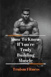 A pin to pinterest explaining the importance of bodybuilding progress