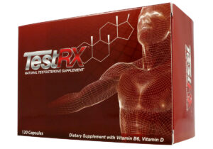 picture of a TestRX review box used to judge how effective it is as a testosterone booster